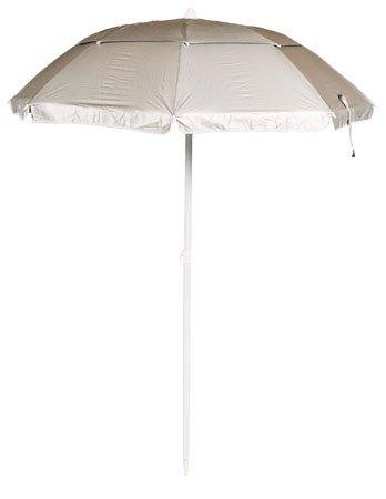 Solar Guard 8' Deluxe Dual Canopy Beach Umbrella