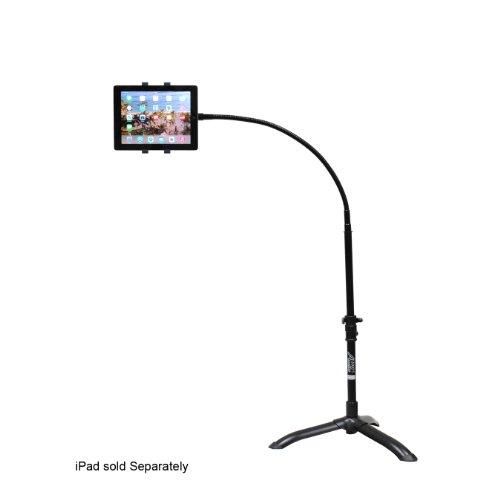 Audio2000s Ast4701 Tablet Rotating Floor Stand for Ipad 1, Ipad 2, New Ipad, and Ipad Mini