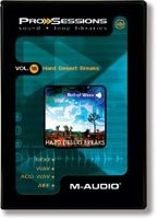M-Audio ProSessions Vol.18 Hard Desert Breaks (M Audio 18)