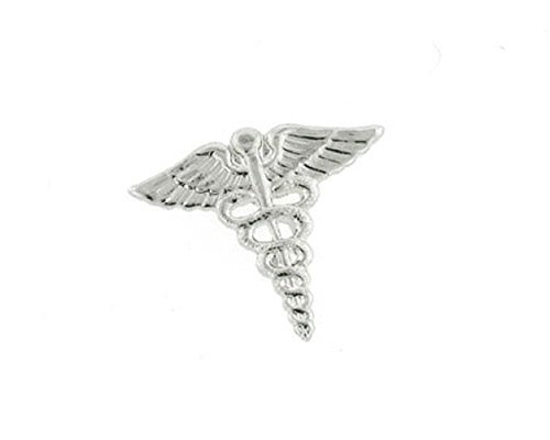 JJ Weston Caduceus Doctor Tie Tack. Made in the USA. by JJ Weston (Image #3)