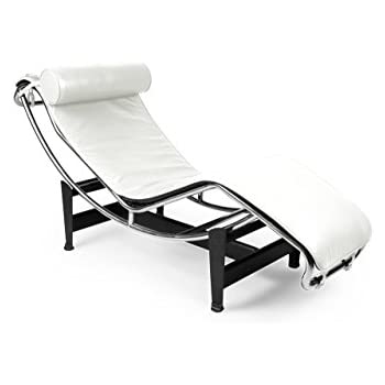 Amazon.com: Fine Mod LC4 Black Chaise Lounge Chair: Kitchen & Dining