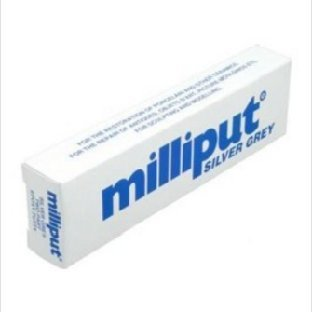 Milliput Epoxy Silver Grey
