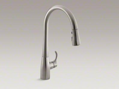 Kohler Kr596sdvs Simplice Pull Down Faucet With Soap Dispenser Vibrant Stainless Buy Online In Guernsey At Desertcart