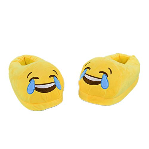 Cry Women Slippers Slipper Teens Emoji Cute Home Plush Unisex Kids Girl Cartoon Luobote 8w7qFRnAx