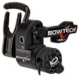 (QAD Bowtech Ultrarest Archery Rests, Black, Right Hand)