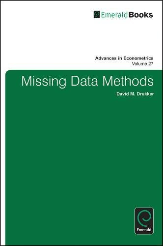 27: Missing Data Methods: Part A & B (Advances in Econometrics)