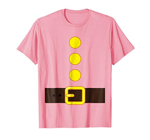 PINK DWARF COSTUME T-shirt Matching Group Halloween Kids