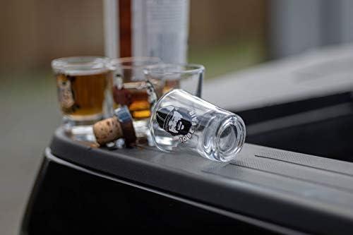 New Hulu Litterkenny Shot Glass K9 HARD NO shot cup glass Free shipping!