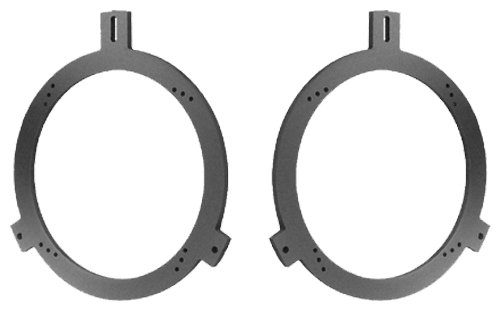 Speaker Adapter Spacer Rings SAK011_55-1 Pair - Fits Chrysler, Dodge, And Jeep - 1 - Speaker Adapter Jeep