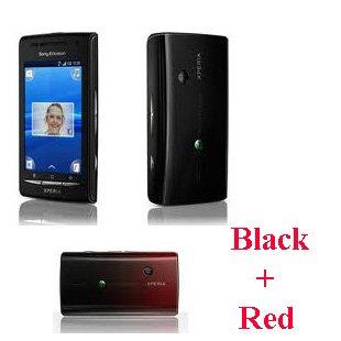 amazon com sony ericsson xperia x8 e15i black black red 2 back rh amazon com Sony Ericsson Xperia Mini Sony Ericsson Xperia Pro