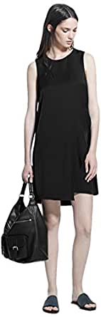 MANGO Dress for Women - BLACK XS (8431729325822)