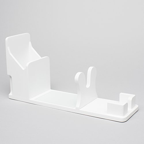 Totally-Tiffany Hot Glue Gun Holder, White by Totally-Tiffany