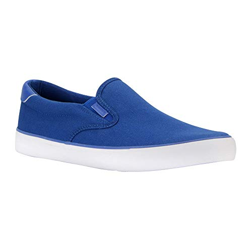 Lugz Men's Clipper Sneaker, Royal Blue/White, 8.5 D US ()