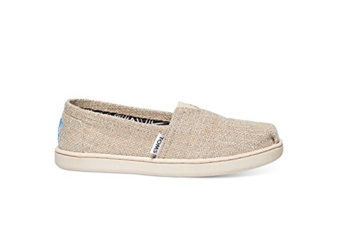 Pictures of TOMS Natural Linen Glitter Youth Classic 10007632 ( 10007632_2.5D 1