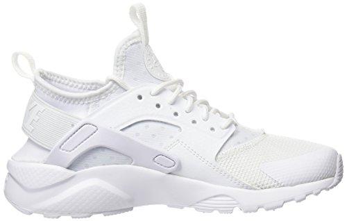 Nike Air Huarache Run Ultra GS, Zapatillas de Trail Running Para Niños Blanco (White / White / White 100)