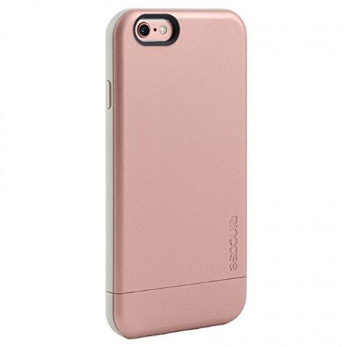 Metallic Slider Case - Incase Pro Slider Case for iPhone 6 Rose Gold/ White Model- Metallic Pink INPH10050-RGD
