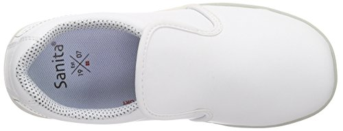 Adulte White s2 1 Mocassins Slipper Mixte San Chef Blanc Sanita n8HxYTw