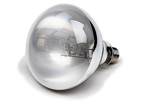 100 Watt UVA UVB Mercury Vapor Bulb / Lamp / Light for Reptile and Amphibian Use - Excellent UVA UVB Reptile Light / Reptile - Fluorescent Step Light