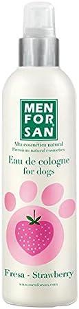 MENFORSAN Agua de Colonia para Perros Fresa - 125 ml