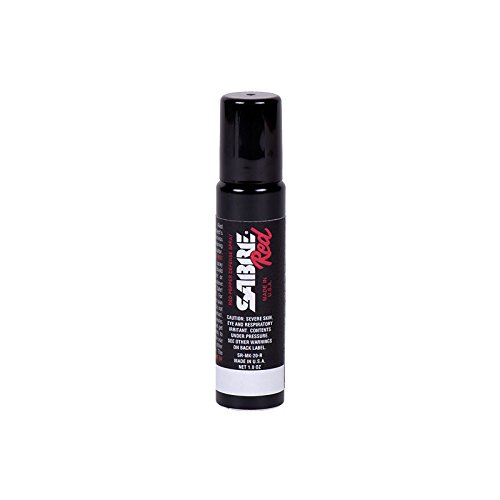 SABRE Red Pepper Spray with Tactical Clip – Identical to Model Used by Police Worldwide – Max Strength – Up to 30 Bursts