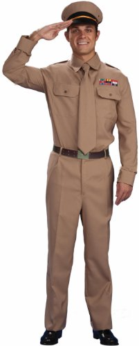 Marines Uniform Costume (World War II General Costume, Adult Plus Size)