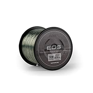 FOX EOS Mono Monofilament Line Spool 1000m Low Vis Green Carp Fishing (12lbs – 0.30mm)