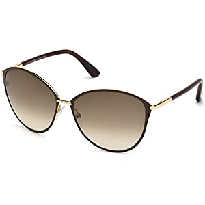 Tom Ford Sunglasses Women TF 320 Brown 28F Penelope 59mm