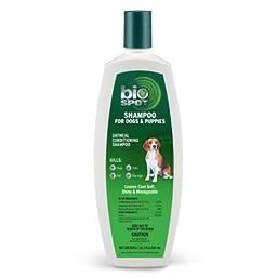 Bio Spot Flea & Tick Dog Shampoo - 1pt , 2fl oz