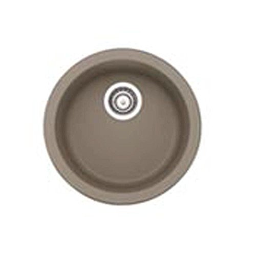 Silgranit Granite Bar Sink - Blanco 517699 Rondo Silgranit II Bar Sink, Truffle