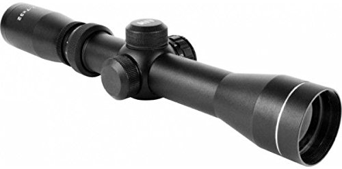 AIM Sports 2-7X32 Dual III. Long Eye Relief Scope with Rings