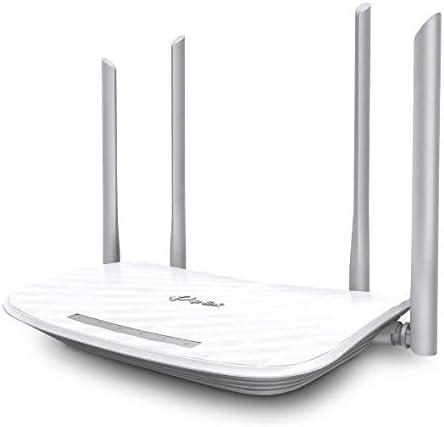 TP-LINK Archer C5 - Router AC 1200 Mbps, Banda Dual WiFi Gigabit (botón WPS/Reset, botón Wireless On/Off, 2 Puertos USB para Compartir Archivos, ...