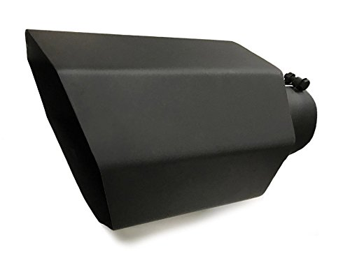 Diesel Exhaust Tips (High Temperature Black Coated Octagon Diesel Exhaust Tip (4