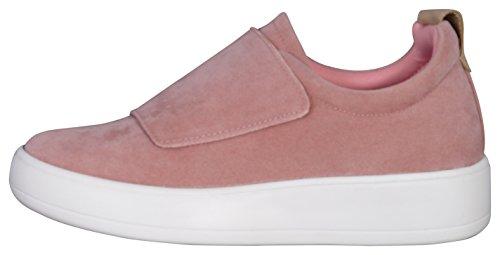 Sneaker Low Cost Di Moda Da Donna Con Velcro