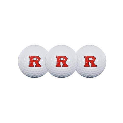 Team Effort Rutgers Scarlet Knights Golf Ball 3 Pack