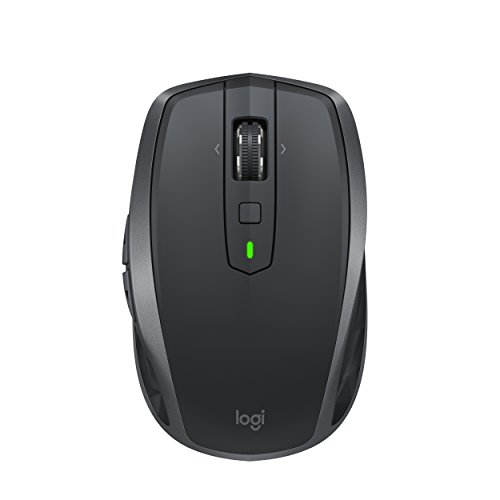 Mayo Cross - Logitech MX Anywhere 2S Wireless Mouse with FLOW Cross-Computer Control and File Sharing for PC and Mac
