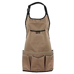 Discoball Oxford Cloth Garden Apron Thickening Garden Tools Belt Multifunction Waterproof Wear-resistant for Women Men