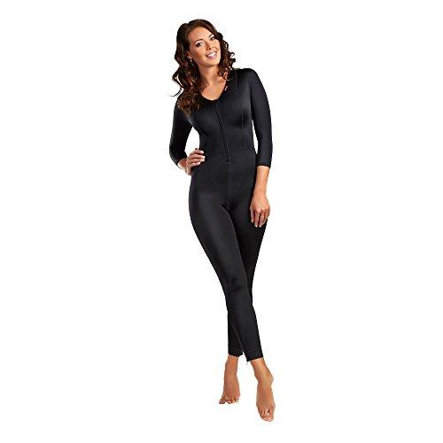 LIPOELASTIC Full Body Compression Suit - MHB Comfort Black