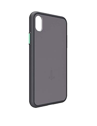 POW Click Case for Mo Expandable Wireless Speaker, Compatible with iPhone Xs Max, Graphite
