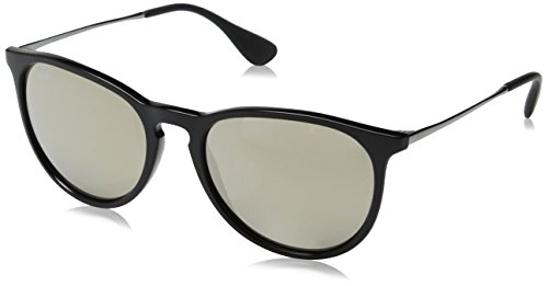 Ray Ban Erika Women's Wayfarer Sunglasses,Black,54mm