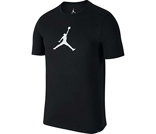 Jordan Dry JMTC 23/7 Jumpman Basketball T-Shirt Mens (Black/White, Medium) (Nike Basketball T Shirts)