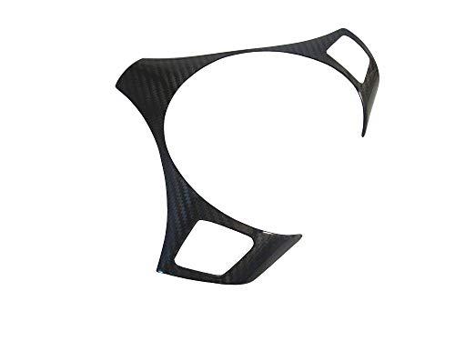 ATEX Dry Carbon Fiber Steering Wheel Overlay Trim Cover for E82 E84 E87 E90 E91 E92 E93 09~12 LCI - Carbon Fiber 09