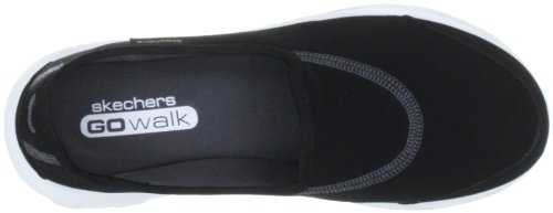 Skechers tela de mujer Negro para Zapatos BKW nbsp; GO Walk 13510 r6aqr0B