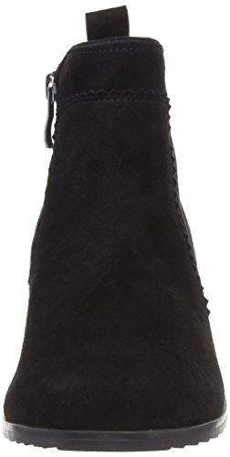 Caprice Noir 25303 Black Bleu 4 Suede Femme Bottes Classiques ra7wqrB