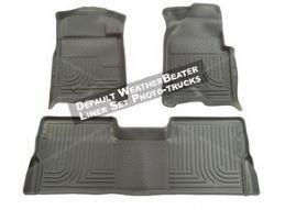 Husky Liner 98032 WeatherBeater Custom Floor Liner GRAY 02-08 Dodge Ram CrewCab (Gray Weatherbeater Floorliner)