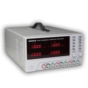 KORAD KA3305P - Programmable Precision Variable Adjustable 30V, 5A DC Triple Linear Power Supply Digital Regulated Lab G ()