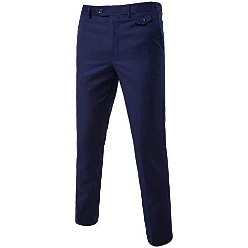 Hommes 3 Bleu Veste Pantalon Clair Taille 3xl amp; Pièces Gilet Décontracté Fuweiencore Navy D'affaires coloré Costume Pour Blazer XwUIUqHO