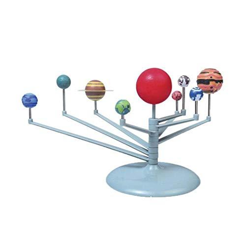 Foshin 1 Set Childrens Science Education DIY Toys Solar System Planetary Model Set