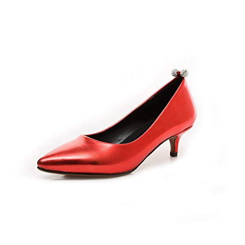 A Collo Rosso An Eu 35 Dgu00592 Basso Donna red O5OEp