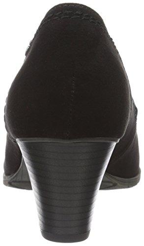 Softline22465 - Zapatos de Tacón Mujer Negro (Black 001)