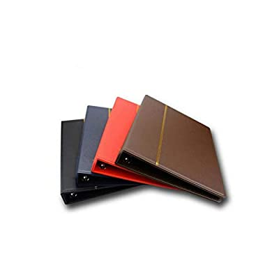 Photo Album International Collection Album 3/7/9 Hole Leather Coin Collection Album Paper Money Postage Stamp Commemorative Coin Folder Book